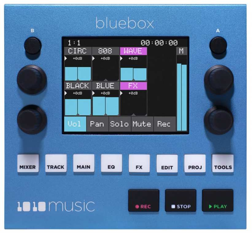 1010 Music Bluebox - front