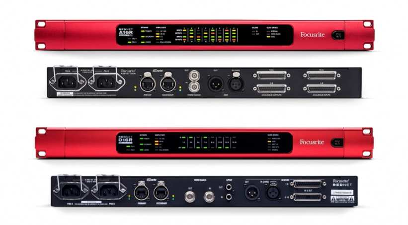 Focusrite Pro Rednet interfaces