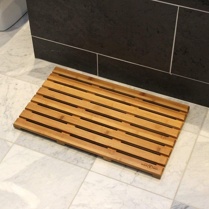 Bamboo Duckboard Bath Mat