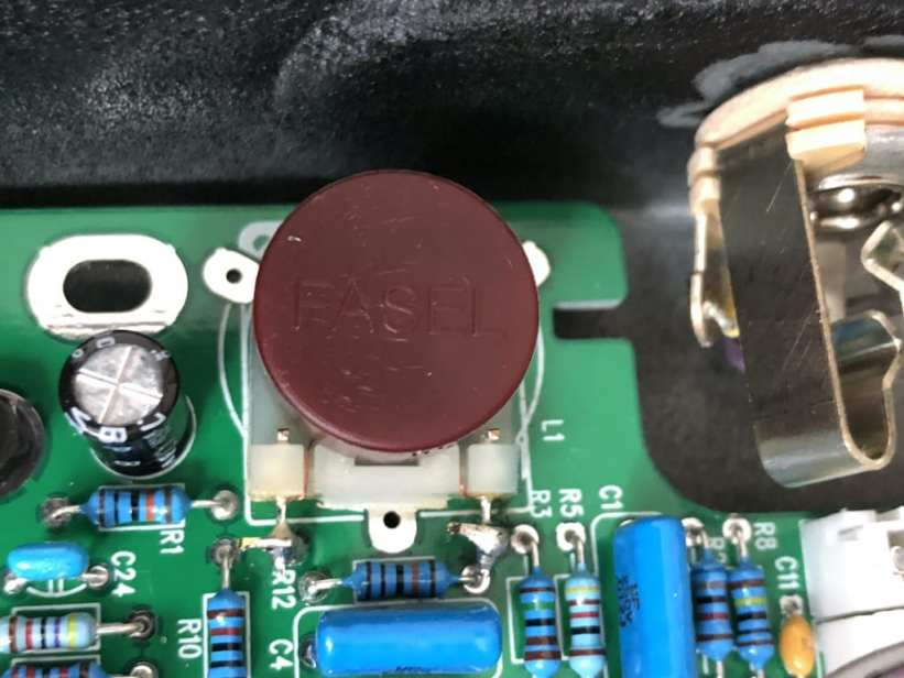 Red Fasel inductor