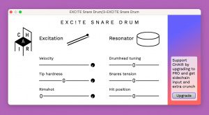CHAIR Excite Snare Drum