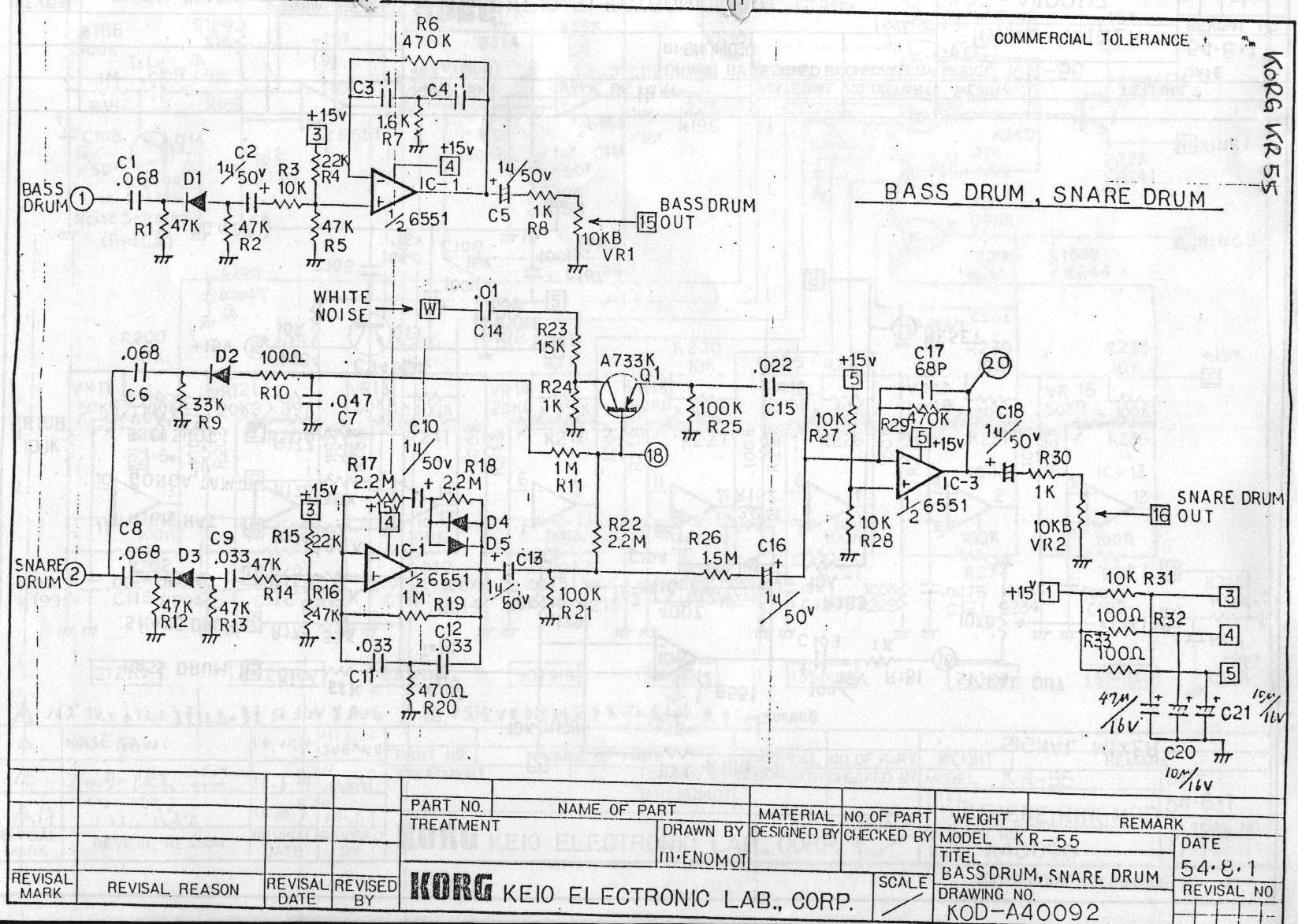 808 S Digital Implementation Amp That Trigger Sound