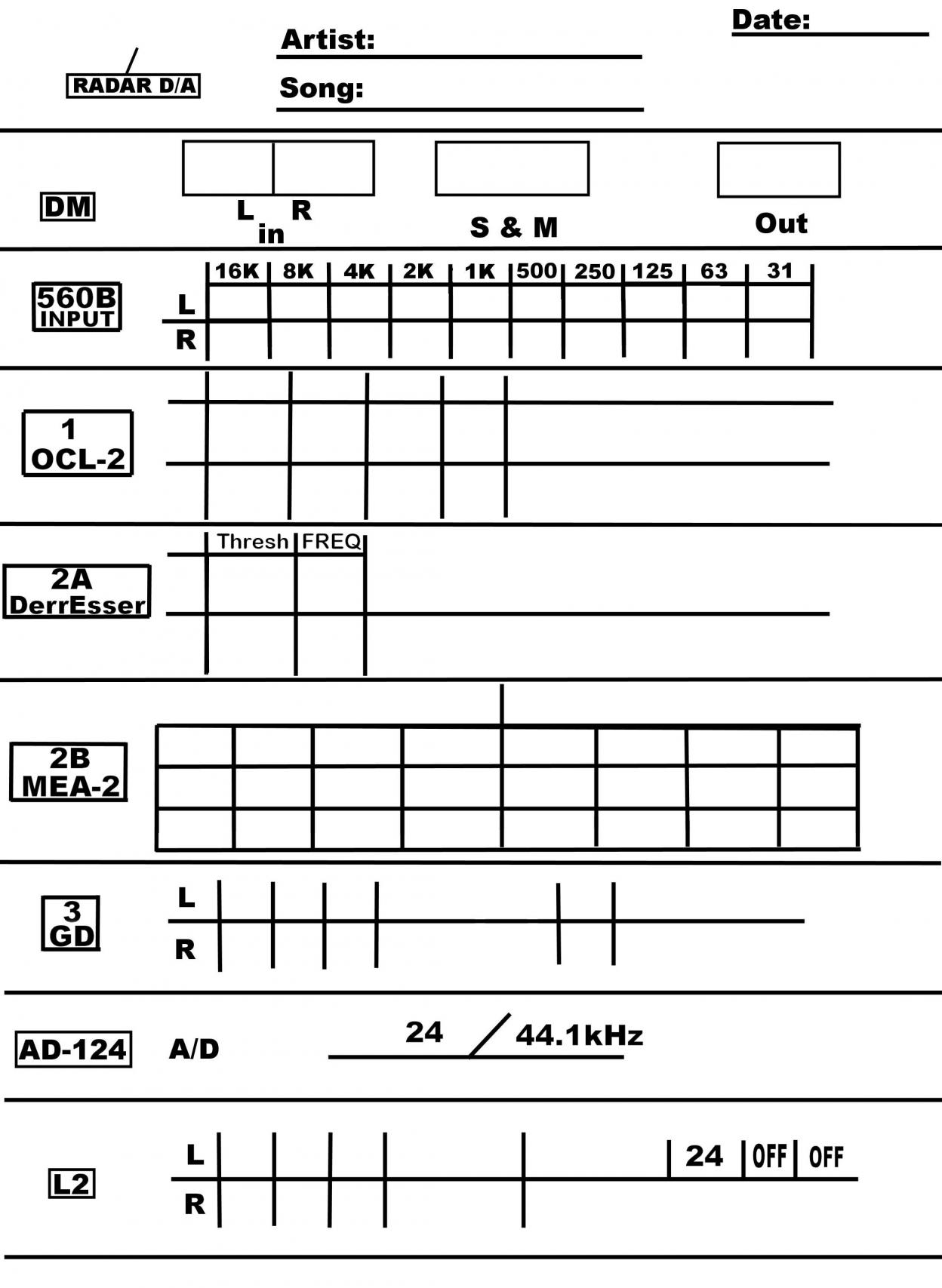 Does Anyone Still Write Up Track Sheets