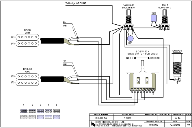 Ym Guitar Way Switch Wiring Diagram on
