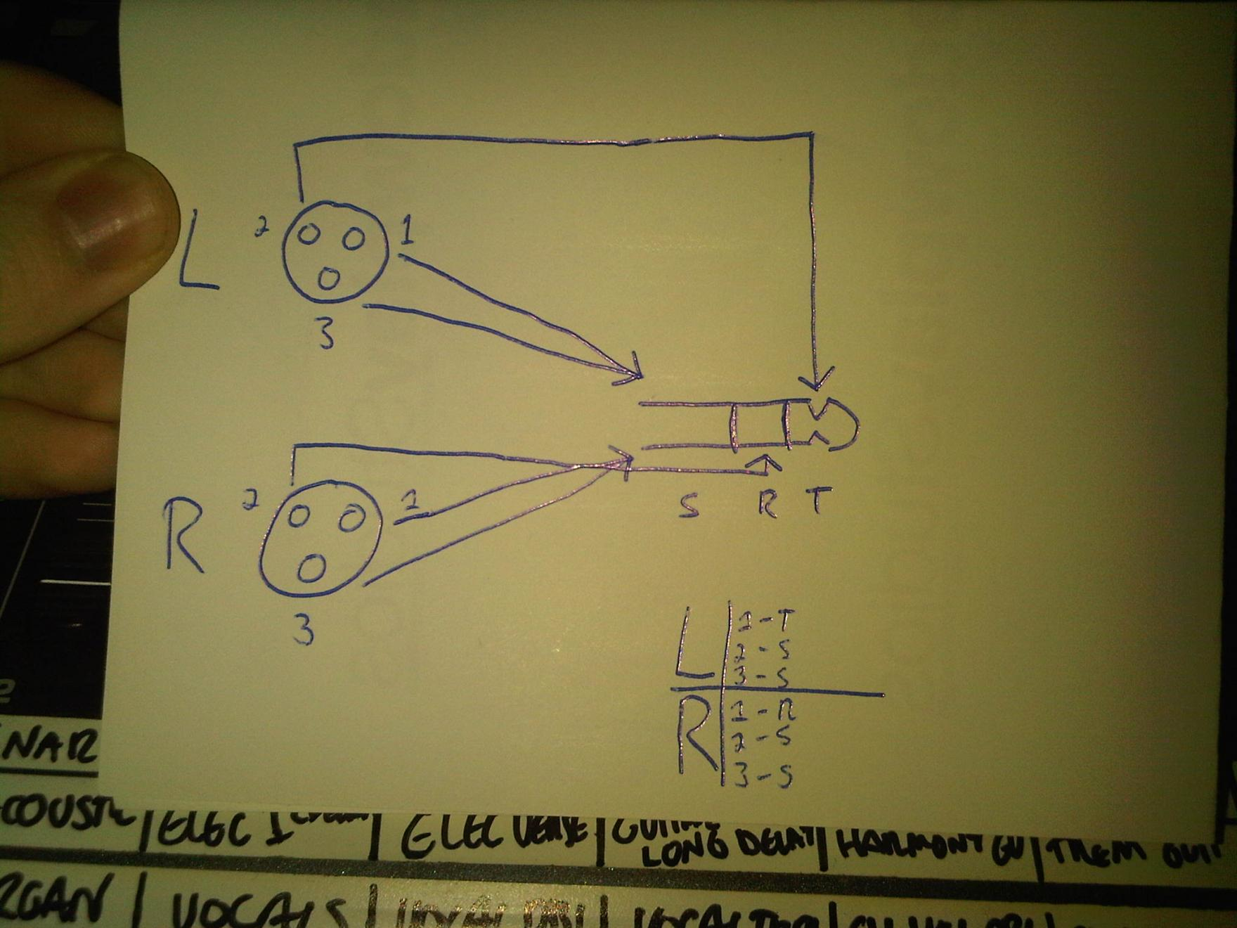 1 4 Inch Jack Diagram Wiring Schematic Speakon Mono Xlr Diagrams Stereoxlr