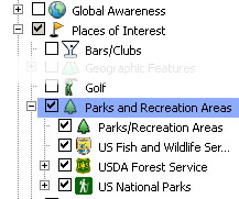 Parks and Recreation Layer