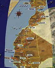 Dakar2006 Race Track in Google Earth