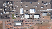 Same day aerial photo - Las Cruces - in Google Earth