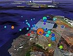 Hawaii Earthquake in Google Earth