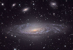 NGC 7331 in Google Sky from Space.com