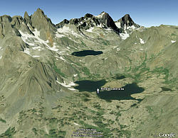 Steve Fossett Items Found New Here - Google Earth View