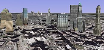 3D buildings with texture in Google Earth