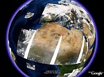 MODIS Daily Satellite Imagery Overlays in Google Earth