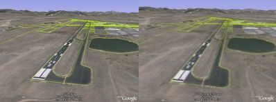 Graphics settings comparison in Google Earth