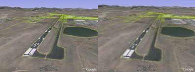 Graphics settings comparison in Google Earth