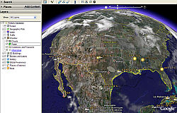 New Weather Layers in Google Earth