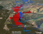 Santa Cruz Residents Against Logging in Google Earth
