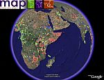 Malaria in Google Earth