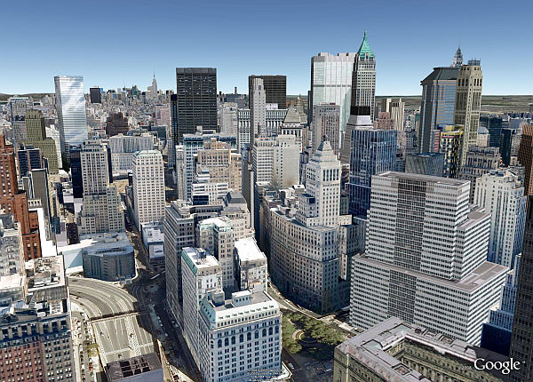 Th Stree Map Of Manhattan Google on