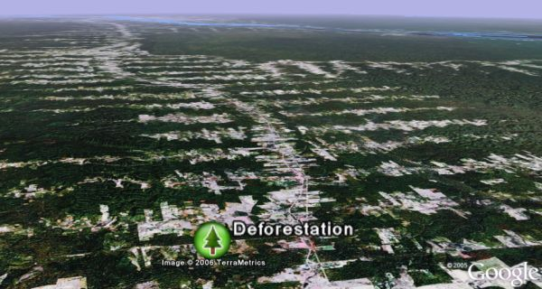 State of Earth's Ecology in Google Earth