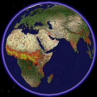 Global Fire Data in Google Earth