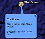 Colored Bubble Description in Google Earth
