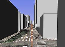 Seattle Street-level Drive in Google Earth