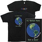 Google Earth tshirt