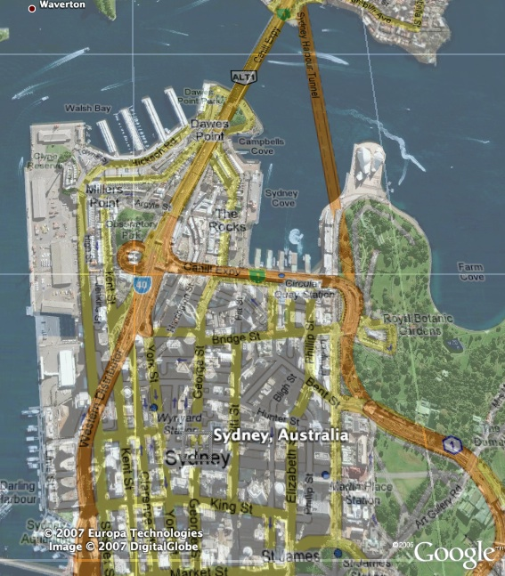 Google Street Maps Overlay For Google Earth Google Earth Blog