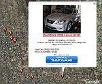 Safarri Classified Ads in Google Earth
