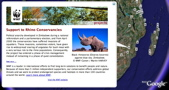 WWF in Google Earth