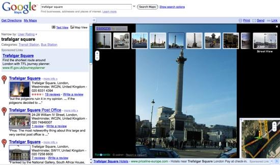 New Google Street View user photos