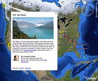 John Muir's Life in Google Earth