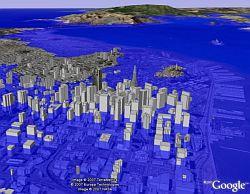 Sea Levels in Google Earth