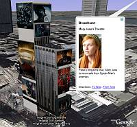 Spider-Man 3 in Google Earth
