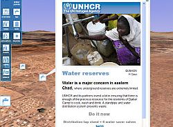 UN HCR Refugee layer in Google Earth