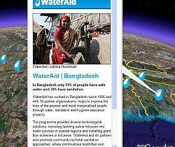 WaterAid  in Google Earth