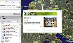 Geo.de in German Google Earth