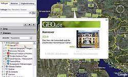 Geo.de in German Google Earth