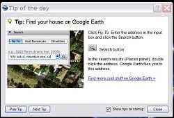 Lost location in Google Earth