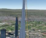 Burj Dubai in 3D in Google Earth