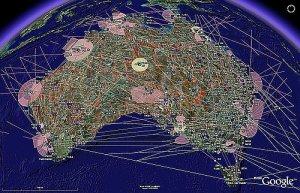 Global Aeronautical Information System in Google Earth