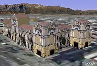 3D Buildings from 3D Warehouse in Google Earth