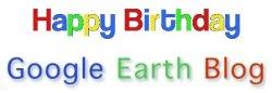 Happy Birthday Google Earth Blog