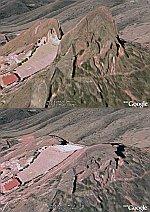 Terrain enhancement in Google Earth