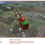 Tracking Santa's journey in Google Earth