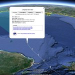 Tracking hurricanes in Google Earth