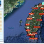 Tracking the International Tour de Taiwan Ultra Marathon in Google Earth