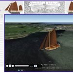 """Sailing Alone Around the World"" in Google Earth"
