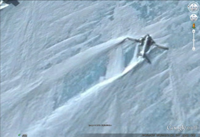 Plane wrecks in Google Earth - Google Earth Blog